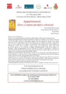 thumbnail of Programma Seminario Appartenenza
